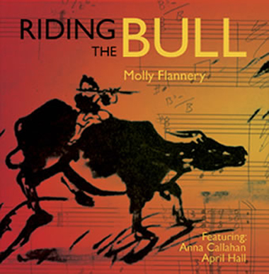 Molly Flannery Riding the Bull CD Cover